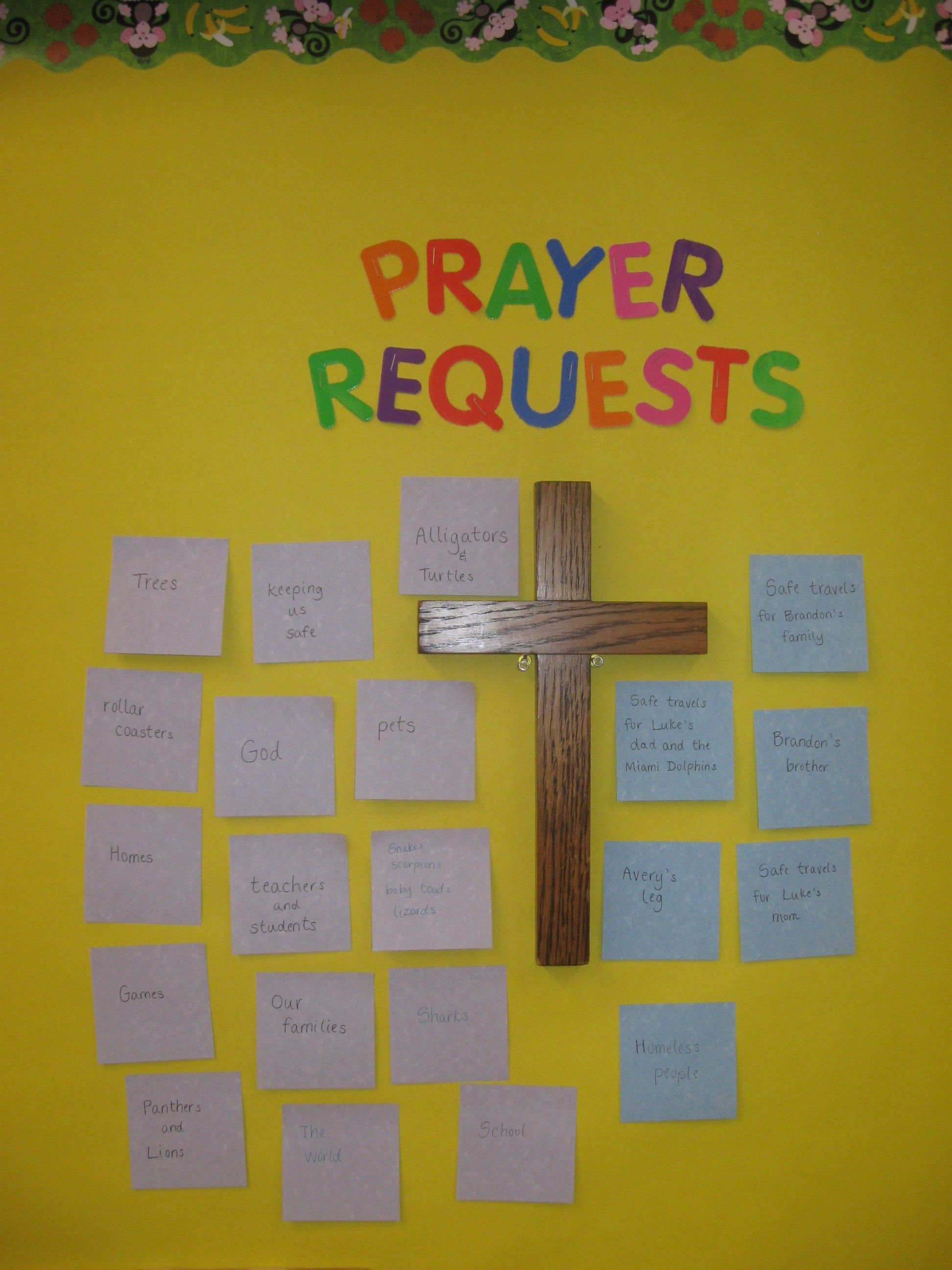 How Can My Students Pray For You Prayer Requests On The