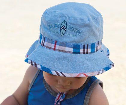 a5796b2d7 Kooringal - Baby Boys Check Bucket | Products | Hats, Baby boy sun ...