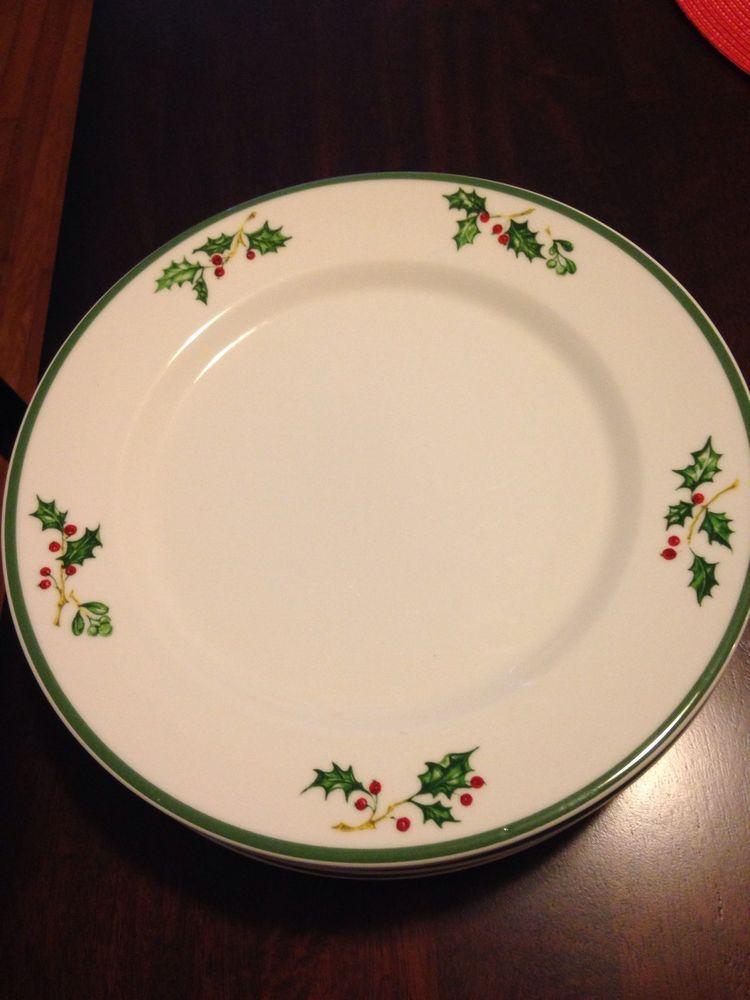 8 christopher radko dinner plates tradition holiday celebrations & 8 christopher radko dinner plates tradition holiday celebrations ...