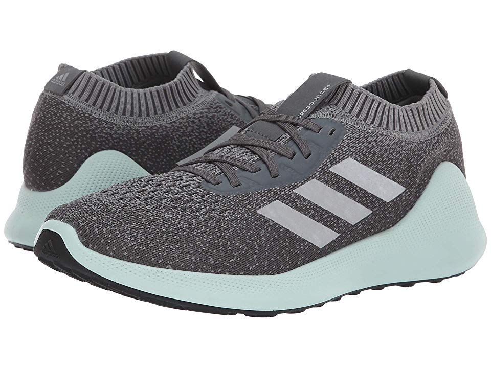 inoxidable Contribución búnker  adidas Running pureBounce (Grey Three/Silver Metallic/Ash Green) Men's  Running Shoes. What's another mile running t… | Running shoes for men, Adidas  running, Adidas