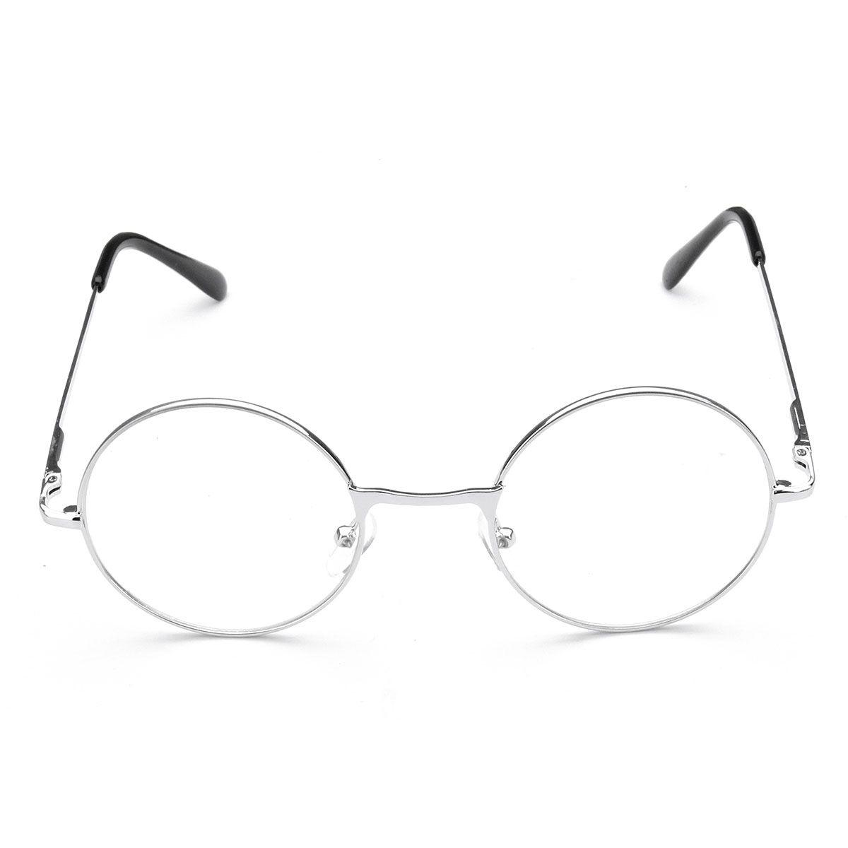Marco de metal Redondo Presbicia Gafas de Lectura Anteojos para ...