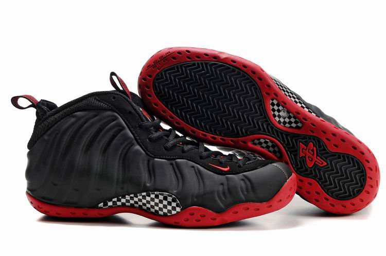 604631f2e0a Cheap Nike Air Foamposite One Penny Hardaway Shoes Black Red