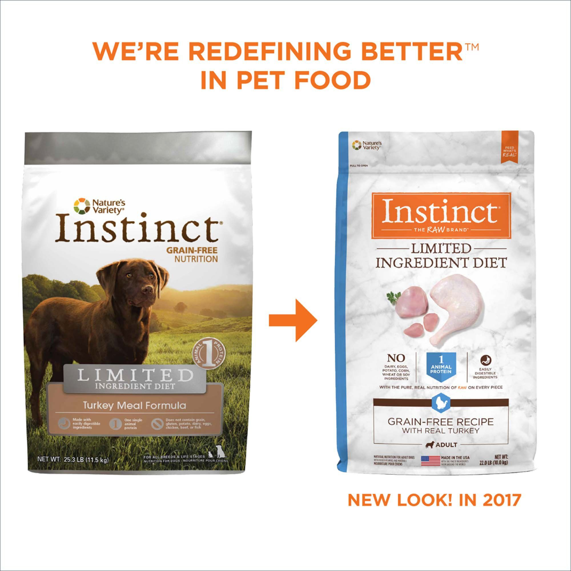 Instinct Limited Ingredient Diet Grain Free Recipe With Real