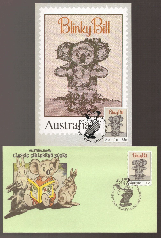 Blinky bill australia classic childrens books maxi card