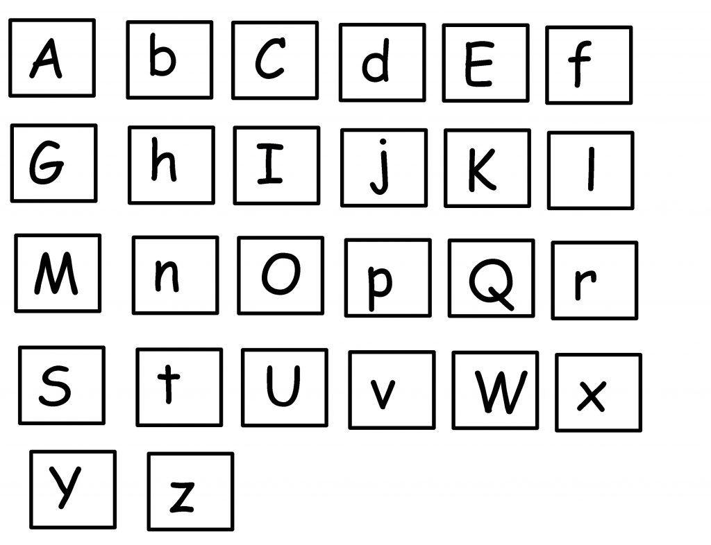 Printable Uppercase And Lowercase Letters Uppercase And Lowercase Letters Lower Case Letters Alphabet Worksheets Preschool [ 786 x 1024 Pixel ]