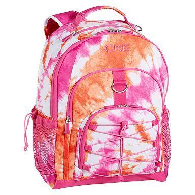 Gear Up Pink Tie Dye Backpack Pbteen Tie Dye Backpacks