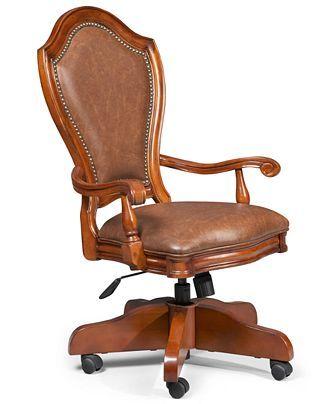 Goodwin Home Office Desk Chair Furniture Macy S