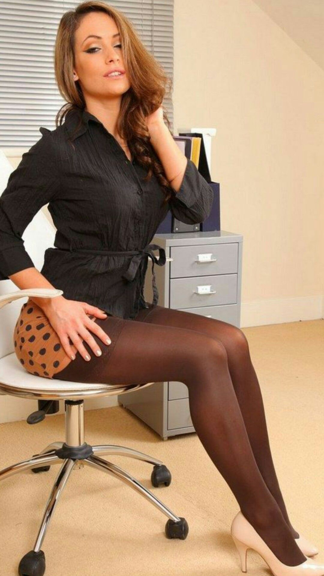 Pin by d phelps on ageless beauty pinterest sexy stockings