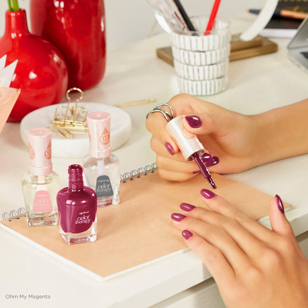 Color Therapy | The Rich Tones | Ohm My Magenta | Color Therapy ...