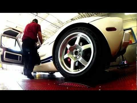 Ford Gt On The Dyno At Uti Avondale Www Uti Edu