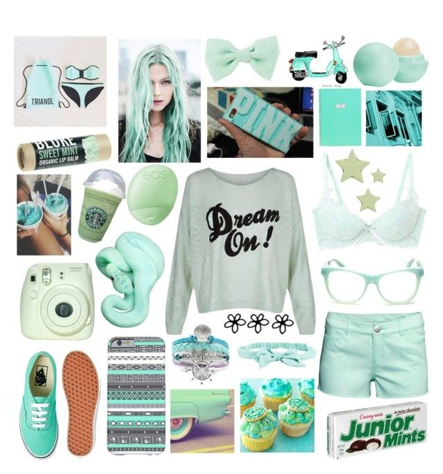 """Mint"" by knockout0203 ❤ liked on Polyvore"