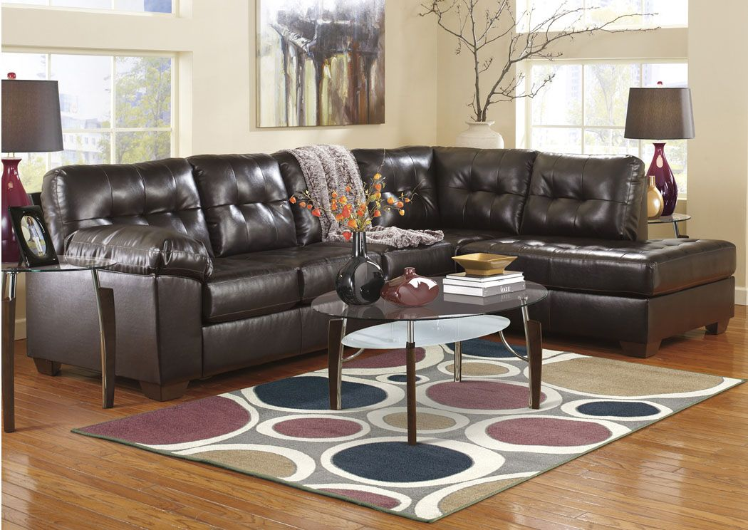 Best Alliston Durablend Chocolate Right Arm Facing Chaise End 640 x 480