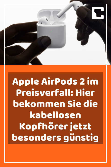 Apple Airpods 2 Im Preisverfall Hier Bekommen Sie Die Kabellosen Kopfhorer Jetzt Besonders Gunstig In 2020 Whatsapp Funktionen Kabel Preis