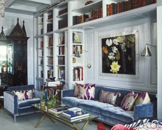 Rooms With Lacquered Walls - Designer Lacquered Walls