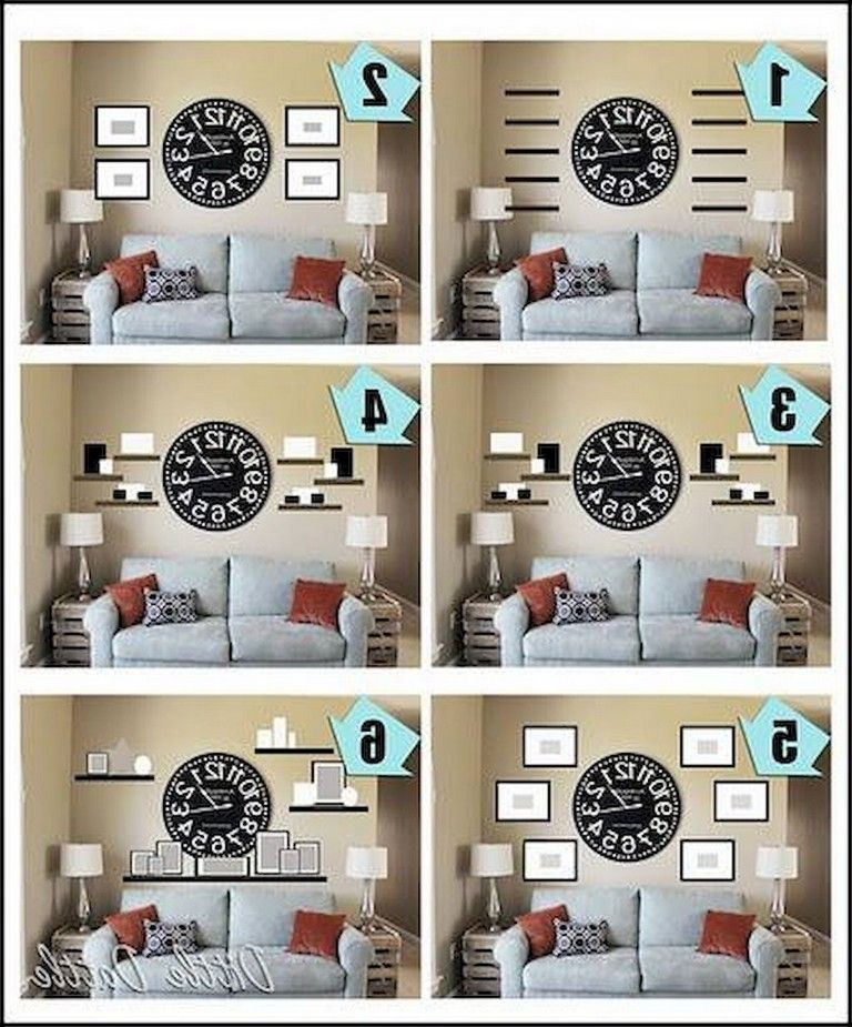 55 Marvelous Gallery Wall Living Room Ideas Big Wall Decor Wall Decor Living Room Room Wall Decor