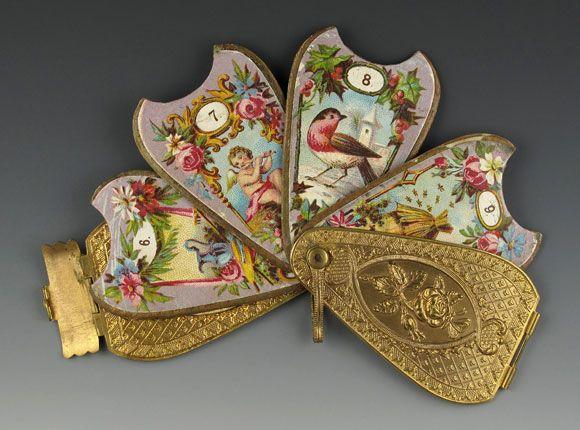Milward Fan Neeedle Case 1868