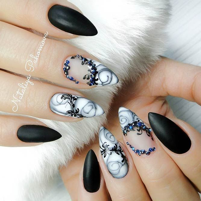 Most Popular and Trendy Nails Shapes for Glamorous Look #nailsshape
