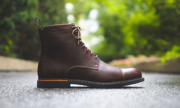 Boots, Brown leather boots, Dress shoes men