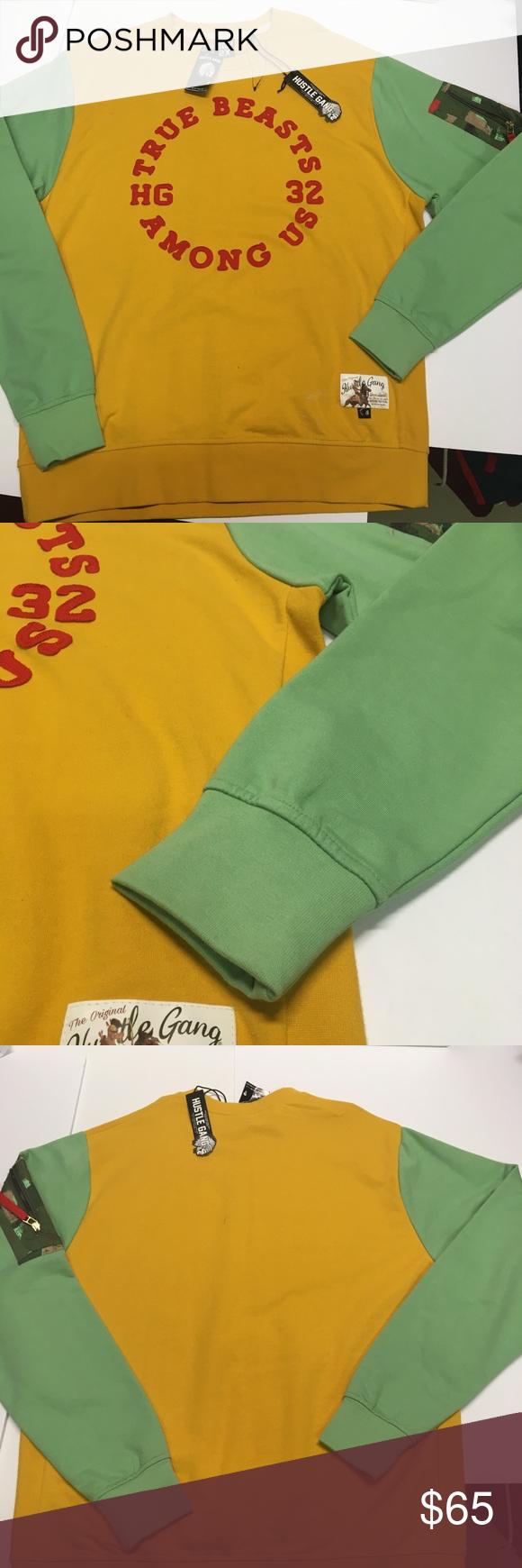 Hustle Gang True Beaat Crewneck Sweatshirt Sweatshirts Crew Neck Sweatshirt Clothes Design [ 1740 x 580 Pixel ]