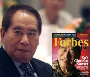 Top 40 richest Filipinos of 2012