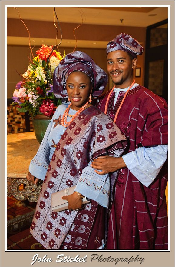 Zulu bride with groom in modern traditional wedding outfit clipkulture