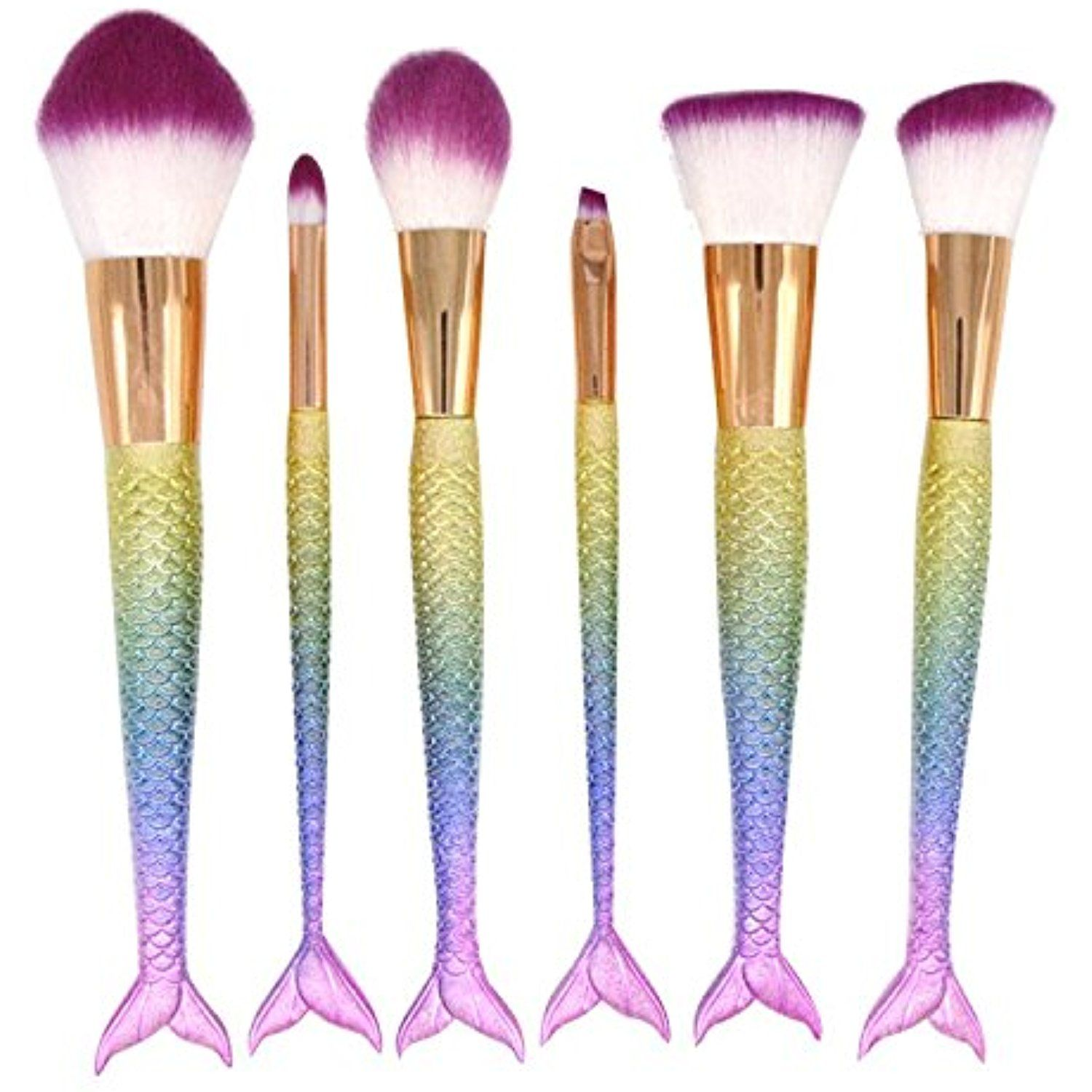 Makeup Brush Set Synthetic Kabuki Foundation Blending