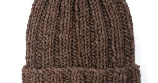 Exclusive Free Beginner Beanie Hat Knitting Pattern From The Toft