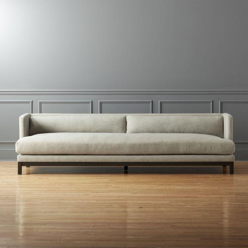 Shop Brava Long Sofa Minimal Yet Cushy Sleek Yet Relaxed Brava