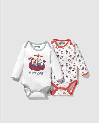 Pack bodys de bebé niña Personajes de Pocoyo