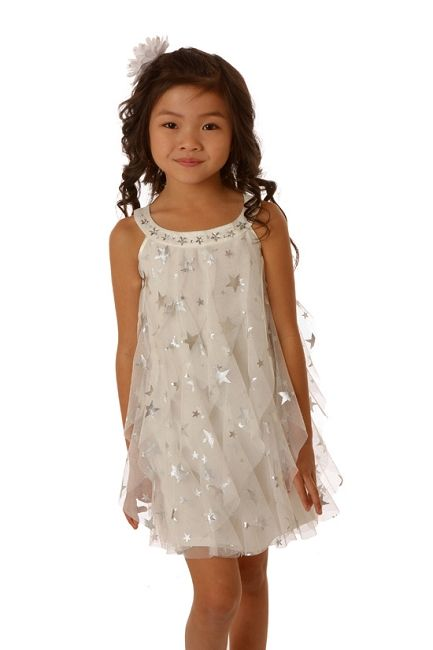 Biscotti Starry Eyed Netting Dress Fab Kiddos Dresses