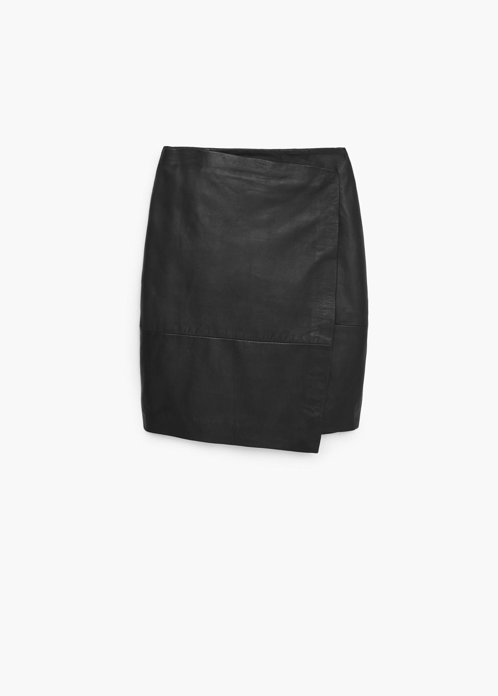 34aacef8704 Wrapped leather skirt - Women | Working Closet | Skirts, Leather ...