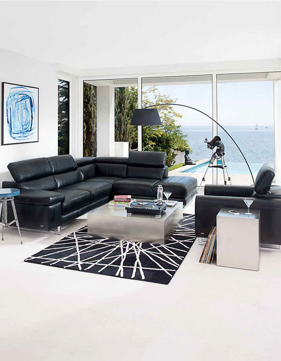 Natuzzi Couchtisch Glas Umbria Sectional Sofa By Natuzzi Editions Hudson S Bay House