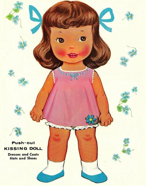 Paper Dolls~My Dolly Kisses