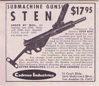 Thompson Gun For Sale >> attachment.php (350×303) | gun and hunting posters and adverts | Pinterest | Guns and Submachine gun
