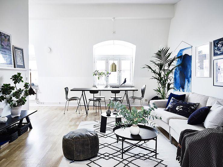 Dit huis mixt minimalistisch schoon met landelijke details