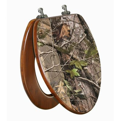 Surprising Topseat Realtree Camouflage Ap Elongated Toilet Seat Crazy Pabps2019 Chair Design Images Pabps2019Com