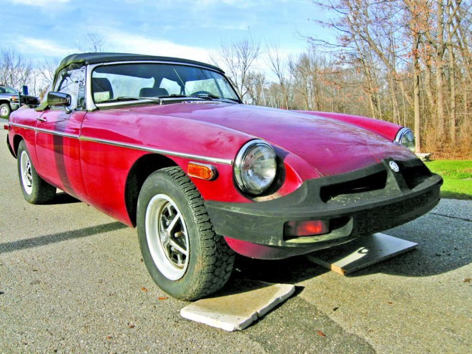 An old friend, our project 1980 MGB, heads to auction
