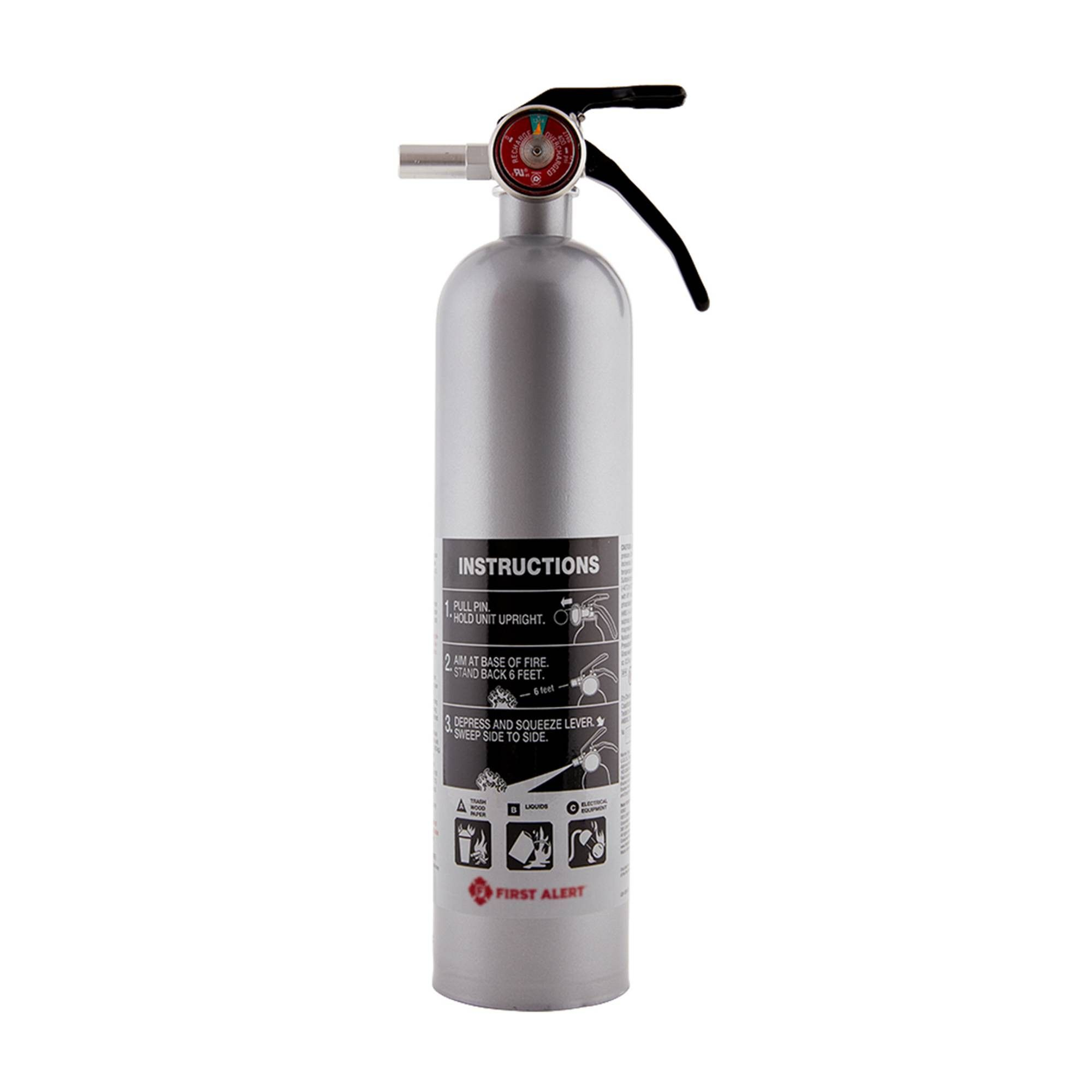 First alert designer kitchen and home fire extinguisher