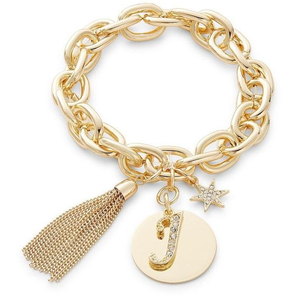 Rj graziano j initial chain link charm bracelet 34 liked on rj graziano j initial chain link charm bracelet 34 liked on polyvore mozeypictures Images