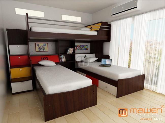 Pin de berenice en piezas muebles dormitorio camas - Fabricar cama abatible ...
