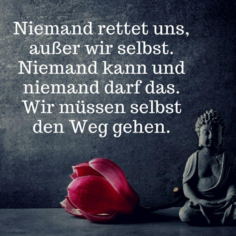 buddha zitate auf deutsch spr che und zitate pinterest. Black Bedroom Furniture Sets. Home Design Ideas