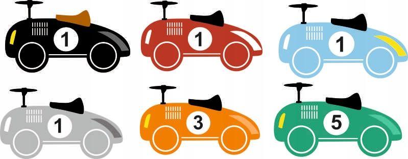 Naklejka Na Sciane Dla Dzieci Auta Kolory Mario Characters Character Fictional Characters