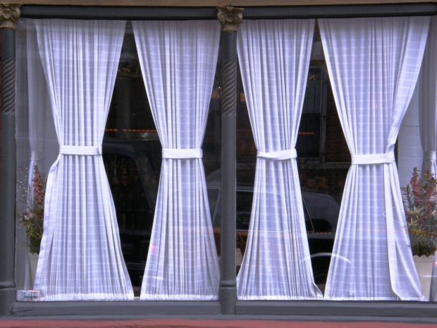 How To Make Hourglass Curtains Ehow French Door Curtains Door