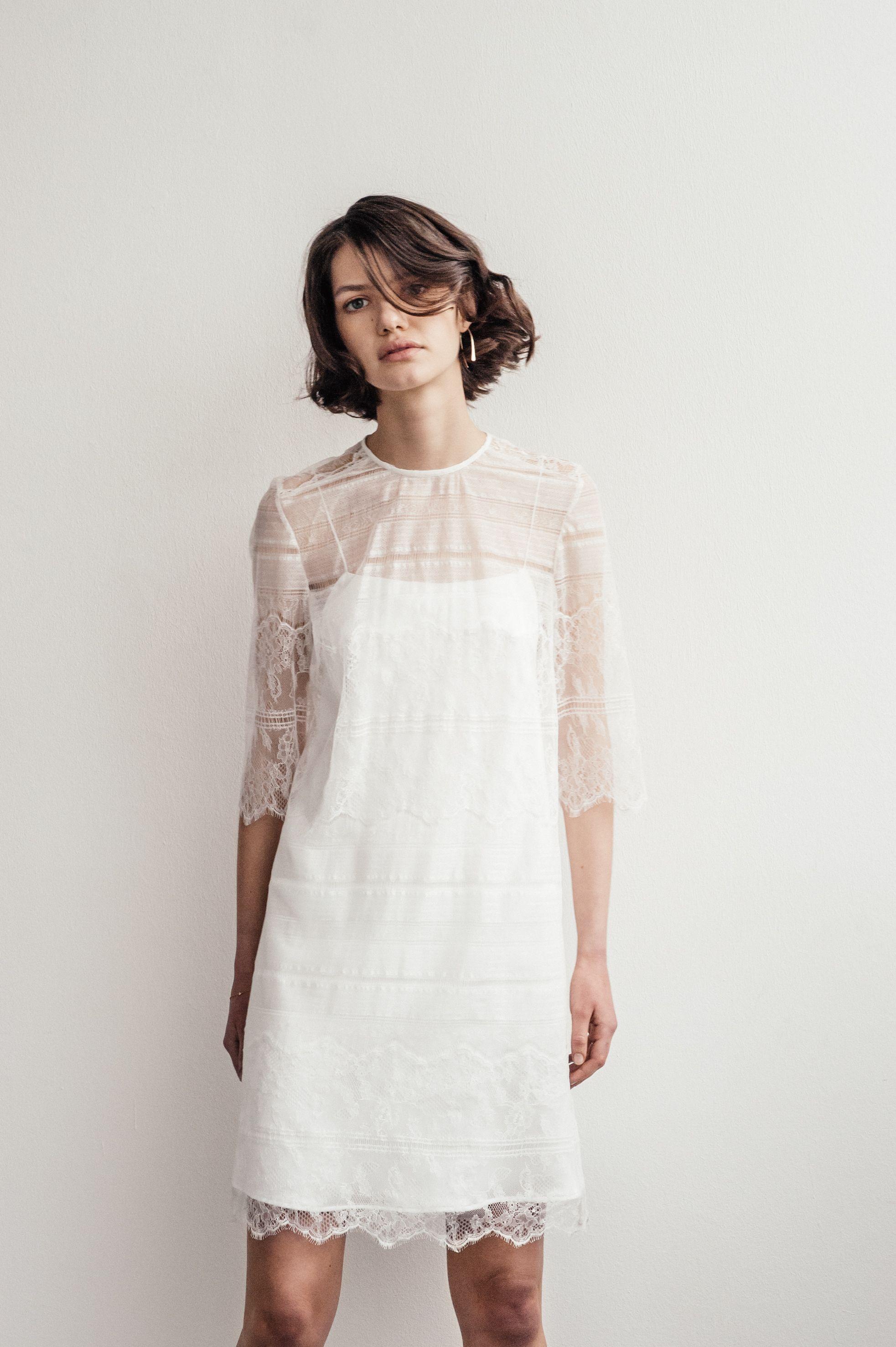 Lilly Ingenhoven Bridal - Dieses kurze, elegante Brautkleid ist ...