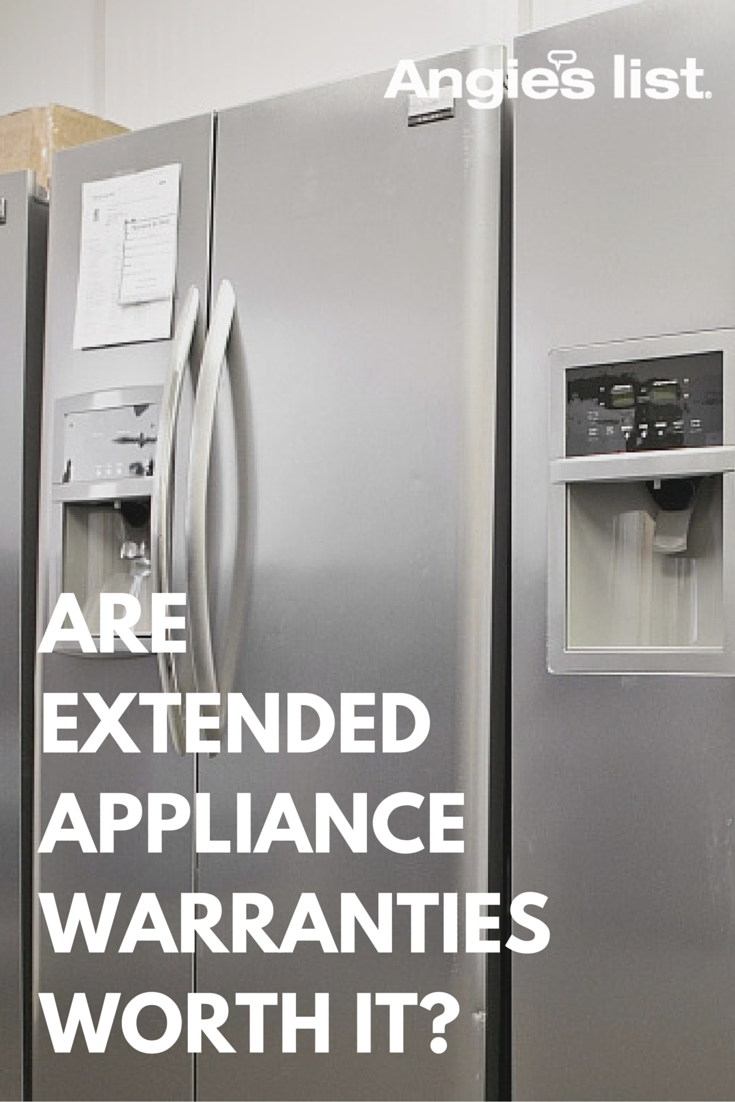 Are Extended Warranties On Appliances Worth It Bathroom