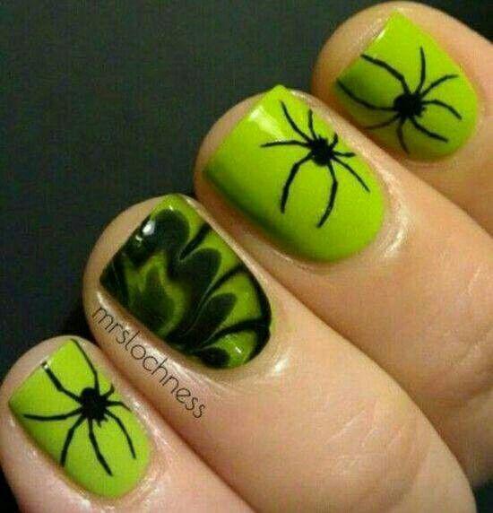 Halloween | hair and nails and stuff | Pinterest | Uñas gelish ...