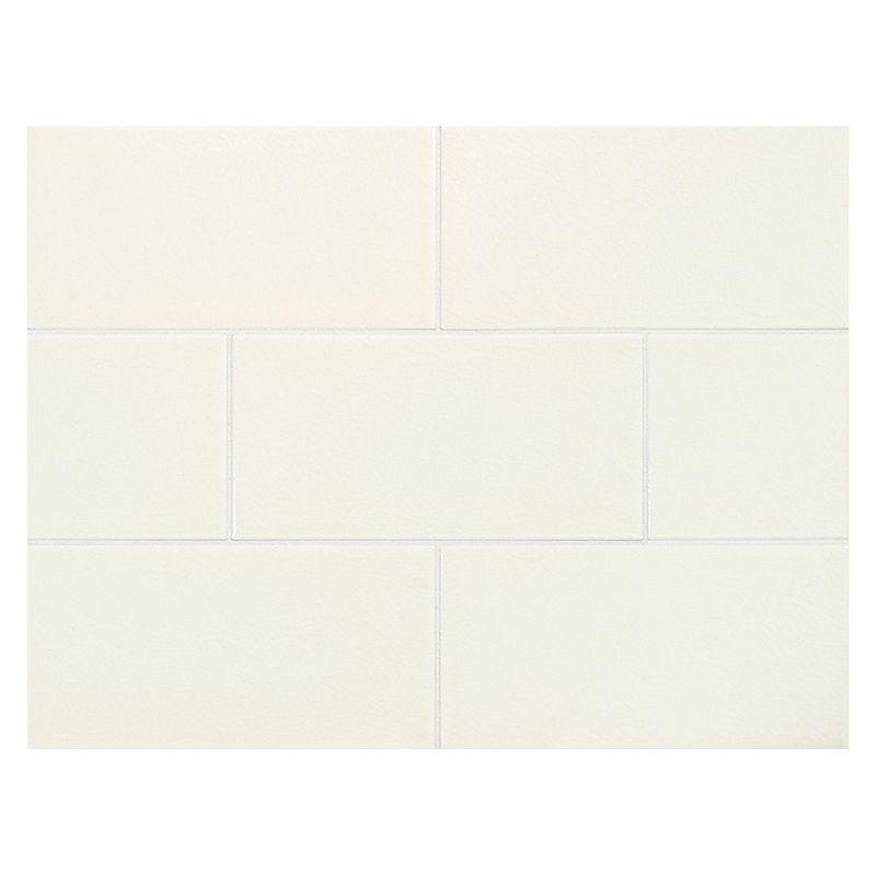Vermeere Ceramic Tile Ice Cream Crackle 3 X 6 Subway Tile Ceramic Subway Tile Ceramic Tile Colors Subway Tile