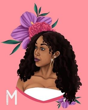 Whoa! This rose just keeps on blooming! | Home #ThisIsMyne #DrawingsByMya #art #illustration #drawing #sketchbook #dailyart #art_daily #instadrawing #bookillustration #illustrationart #drawingoftheday #procreate #blackartmatters #dopeblackart #blackartsupport #blackartistspace #hashtagblackart #supportblackart #ad #explorepage #logo