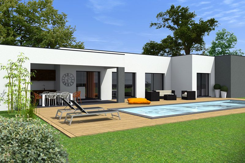 mod le tilla maisons bati sud house pinterest. Black Bedroom Furniture Sets. Home Design Ideas