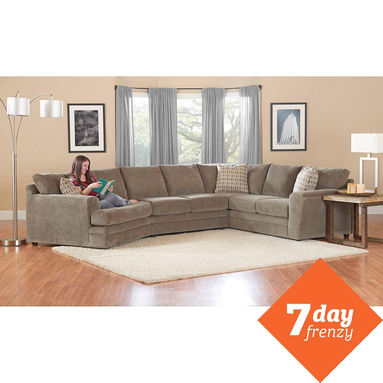 1699 00 Prestige Ashburn Sectional Sofa Home Decor